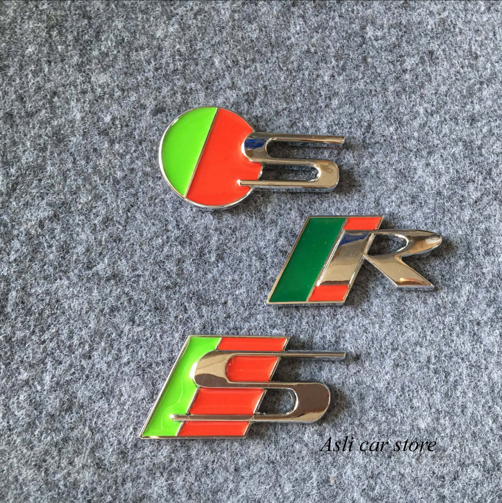R Sport S Type Emblem Car Rear Badge For Jaguar Xjr Xfr Xkr Trunk Boot Sticker 522