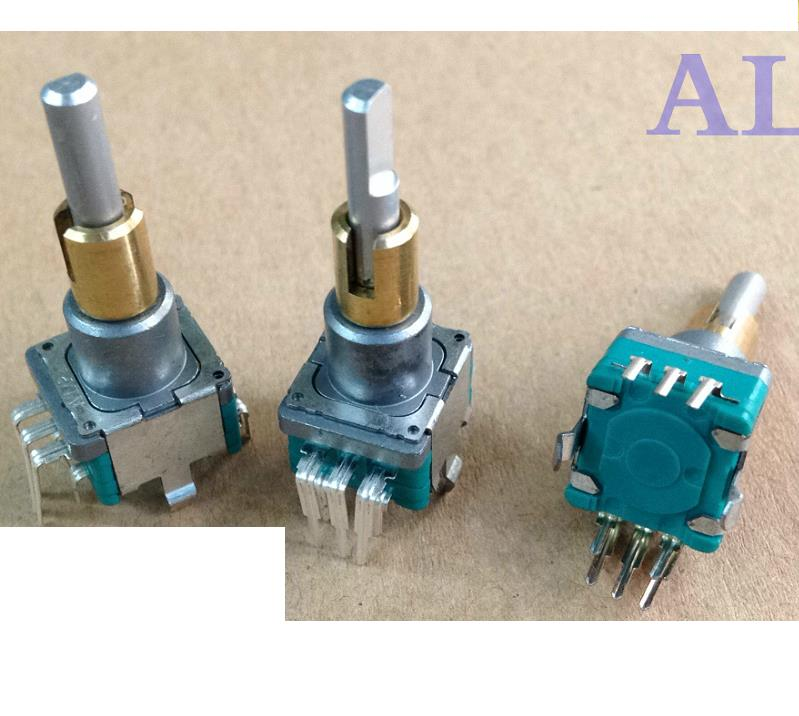 2PCS/LOT ALPS alpine EC11E0B2LB01 encoder + reset band switch, 30 axis, 15 position pulse [bella]genuine imported from japan alps encoder em20b4014a01 40 4 stepping with light switch 1pcs lot