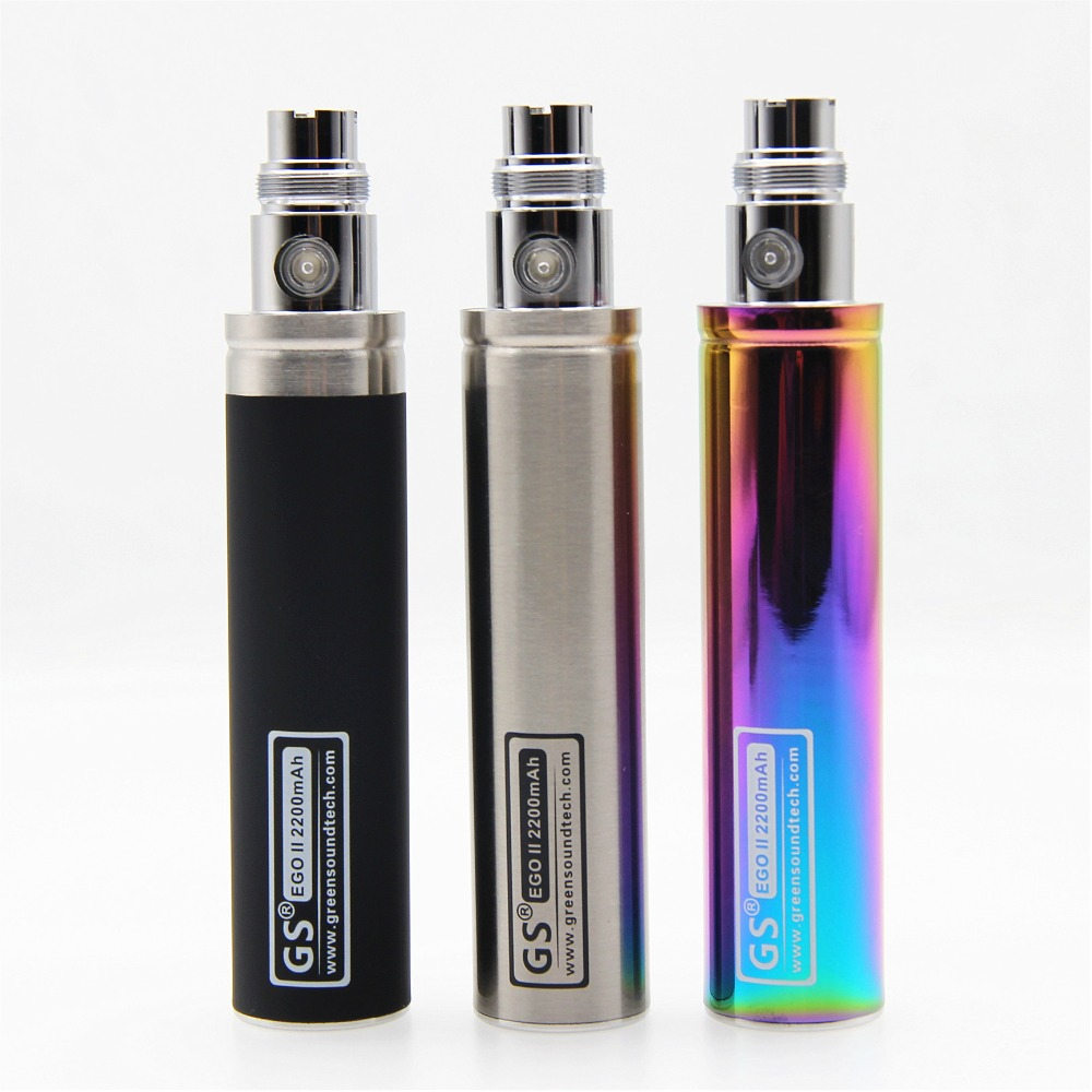 GreenSound New Capacity 2200mah EGO Electronic Cigarette <font><b>Battery</b></font> For ego II Electronic Cigarette Ego/<font><b>510</b></font> Thread <font><b>Battery</b></font> image