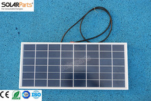 Solarparts 1x 20W polycrystalline solar panel module cell system 12V DIY kits for toys light led science toy experiment outdoor