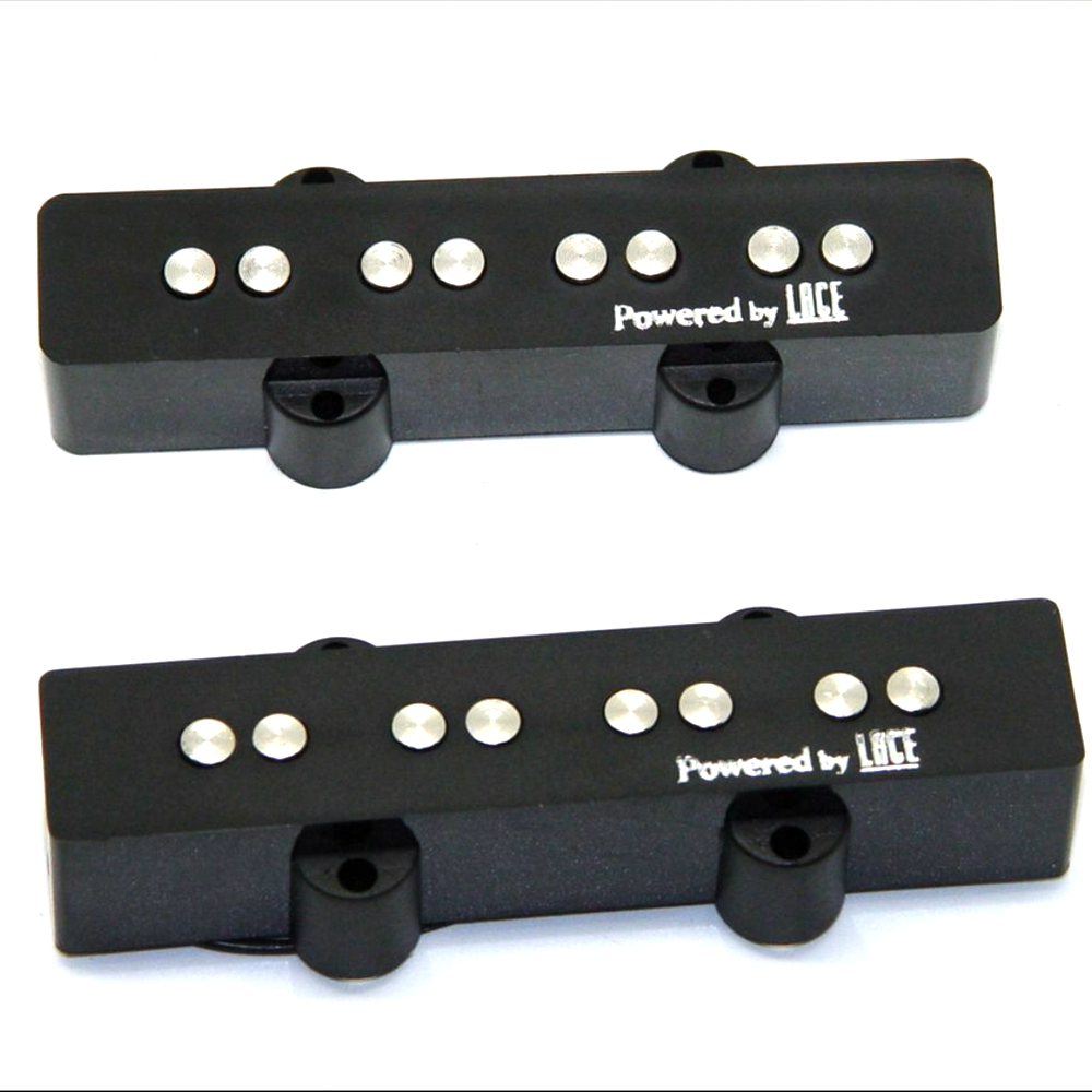 NEW Set 2 Pcs LACE JAZZ BASS Guitar Pickups JB Bass Pickups For Electric Bass (Bridge And Neck )