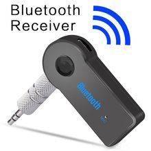 купить Stereo Blutooth Wireless for Car Music Audio Bluetooth Receiver Adapter Aux 3.5mm A2dp for Headphone Reciever Jack Handsfree по цене 134.63 рублей