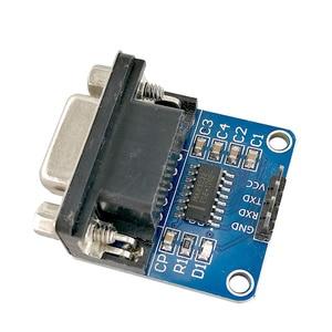 Image 5 - MCIGICM 100pcs MAX3232 RS232 to TTL Serial Port Converter Module DB9 Connector MAX232