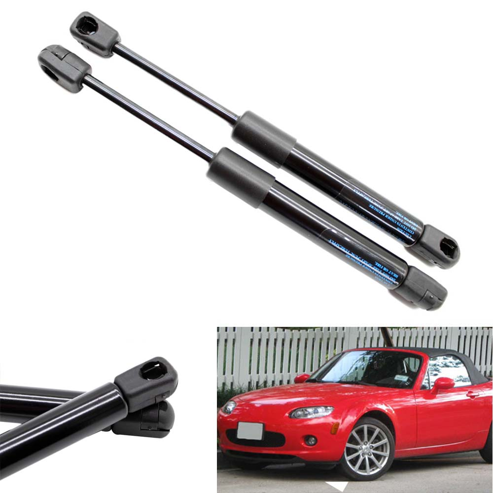 2pcs AutoTailgate Boot Gas Struts Shock Struts Damper Lift Supports for <font><b>Mazda</b></font> <font><b>MX</b></font>-<font><b>5</b></font> Miata Convertible 2006-2011 2012 2013 245 mm image