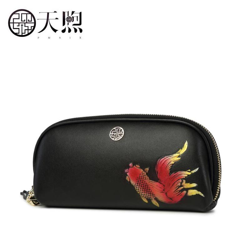 Famous brand top quality Cow Leather women bag  2018 new large-capacity leather clutch Zipper long leather wallet ladies bagFamous brand top quality Cow Leather women bag  2018 new large-capacity leather clutch Zipper long leather wallet ladies bag