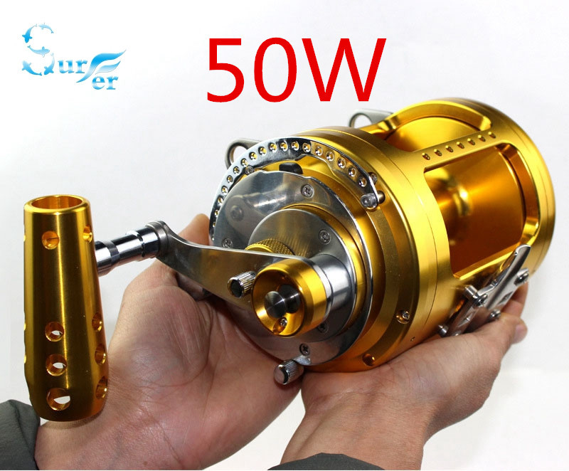 Online buy wholesale 80w reel from china 80w reel for Deep sea fishing gear