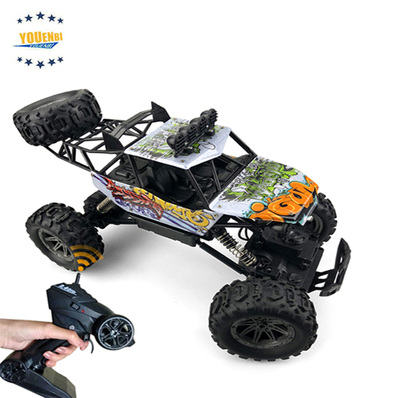 Nitro Powered rc Car 4x4 High Speed Racing 1/10 Radio Control Car 4wd Electrics Brushless Monster Truck image