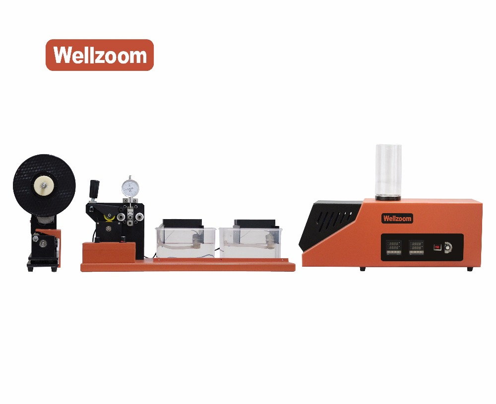 Wellzoom Line II Full Set Extruder + Water-cooling Tractor+ Auto Winder / For Lab Use /