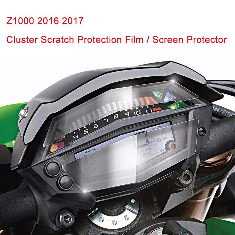 Для Кавасаки z1000 2014 2015 2016 2017 кластера Скреста защитная пленка экрана протектор для Кавасаки z1000 2014-2017