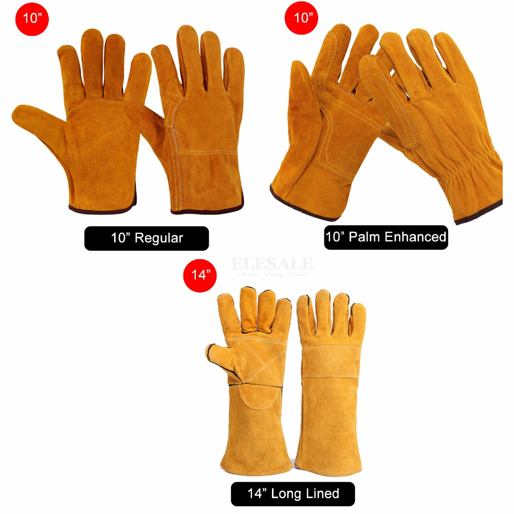L-10 Freemasons Masonic Leather Gloves in Real Kid Leather
