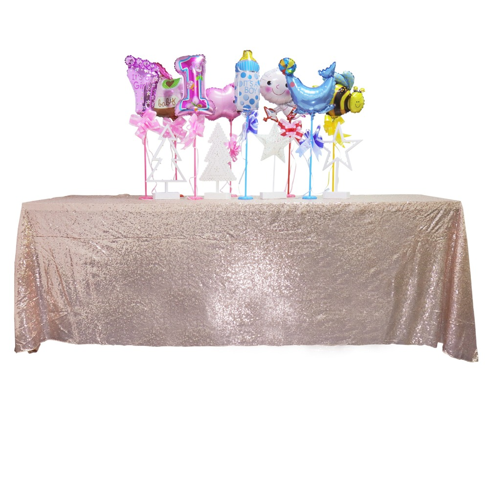 Sofa Rosa Usado Us 11 54 49 Off Champagne God Silver Rose Gold Sequin Tablecloth Wedding Beautiful Champagne Sequin Table Cloth Overlay Cover Many Size In
