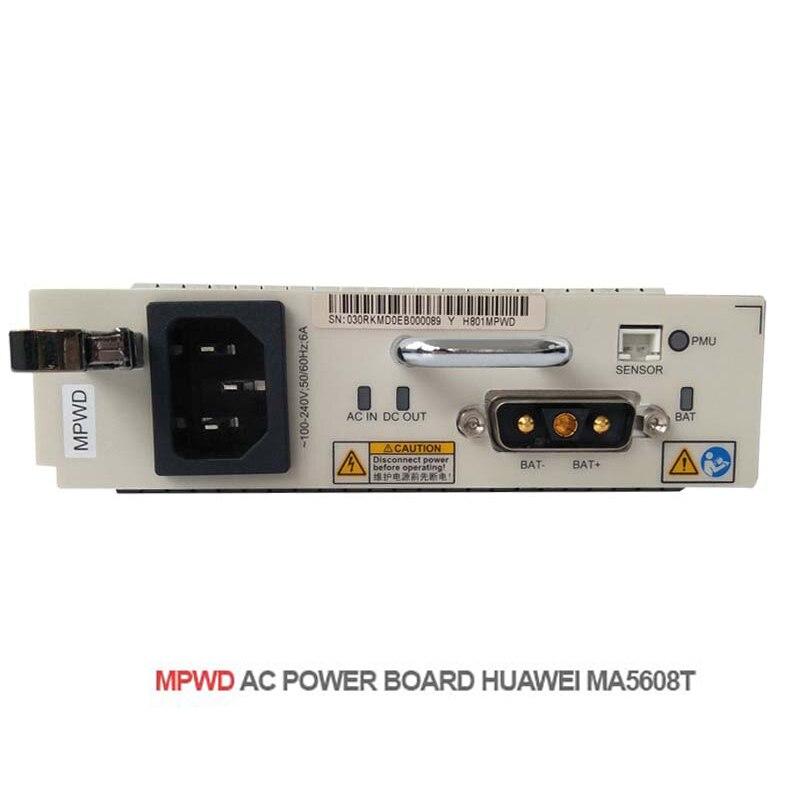 Hua wei MPWD power board AC 220 V Module Intégré Puissance, MPWD DC puissance supplyy pour GPON EPON OLT MA5608T