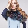 Fox Fur Fur Scarf Real Fox Fur Knited Winter Women Warm Fashion the new Fur Collar Autumn Warm Neck Ring Collar Scarves S#28