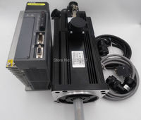 2 3KW 15Nm 1500rpm Brake AC Servo Motor Drive Kits With 3M Cable 220V 130mm MS