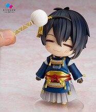 Kissen Touken Ranbu Online Mikazuki Munechika Q version 10CM Nendoroid PVC Action Figures Collectible Model Toys