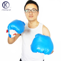 2016 NEW Boxing Gloves Profession Gloves Mma With Boxing Bag Kick Fight Boxeo TOP Quality Thai