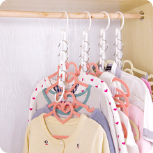 1Pcs New 3D Space Saving Hanger Magic Clothes with Hook Closet Organizer Home Tools F2961