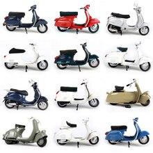 1:18 piaggio vespa liga motocicleta diecast modelo de brinquedo para crianças presente aniversário brinquedos coleção caixa original