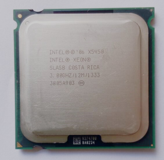 working some 775 socket X5450 CPU For Xeon X5450 Quad Core server CPU processor /3.0G /LGA771-775 /12MB L2 Cache/