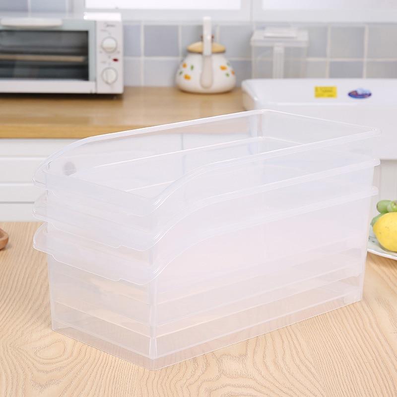 Wheeled Storage Box Fruit Vegetable Plastic Storage