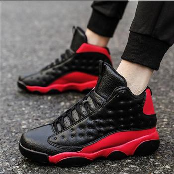 цена на 2019 Jordan 13 Men Brand Basketball Shoes AJ 13 Sport Boots Men's Comfortable Sneakers Male Winter High-top Man Athletic Shoes