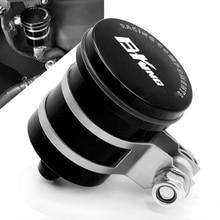 цена на CNC Aluminum Motorcycle Rear Brake Fluid Reservoir Clutch Tank Oil Cup For Suzuki B-king 1300 GSX1300 2008 2009 2010 2011 2012