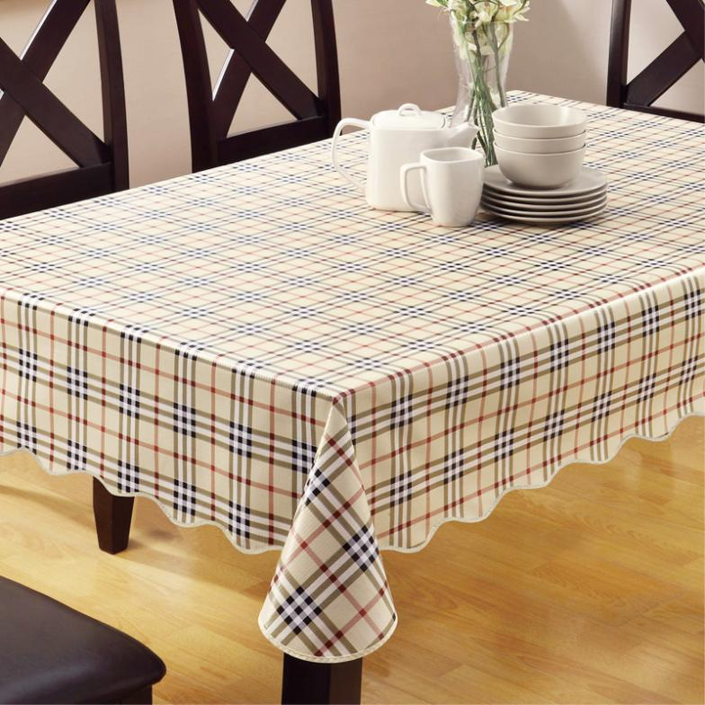 House scenery crochet tablecloth table cover restaurant
