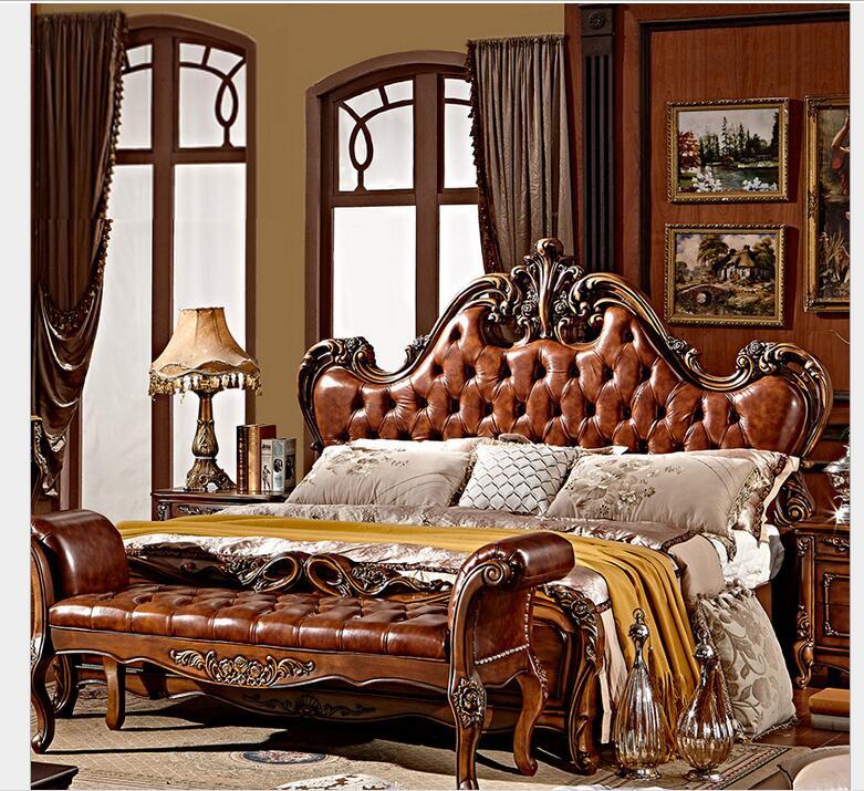 muebles de lujo europeo clsico dorado completo hecho a mano de talla de madera de madera