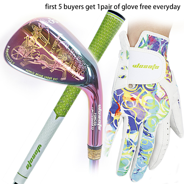 Golf clubs wedges Egyptian Culture right handed unisex Colorful color 50/52/56/58/60 Degree Steel Shaft