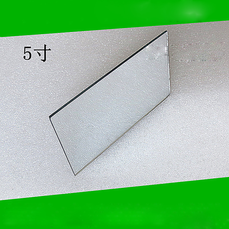 2PCS 125x77x2mm Mini Projector First Surface Reflector Projector FS Mirror DIY Projector Accessories High Reflectivity Lens