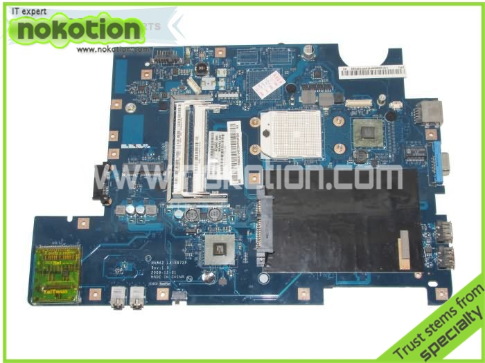 NOKOTION LA-5972P for lenovo ideapad g555 laptop motherboard m880g ddr2 11S69035134 HD4200 graphics Mainboard brand new for lenovo b470 laptop motherboard 48 4kz01 021 mainboard