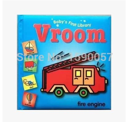 ФОТО Free shipping 2015 New Hot Sale Original English daily life baby infant board books book early childhood cognitive enlightenment