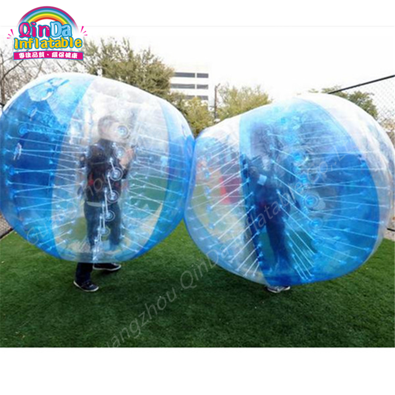Inflatable Bubbles Soccer,Globe bumper footballs Inflatable Body ...