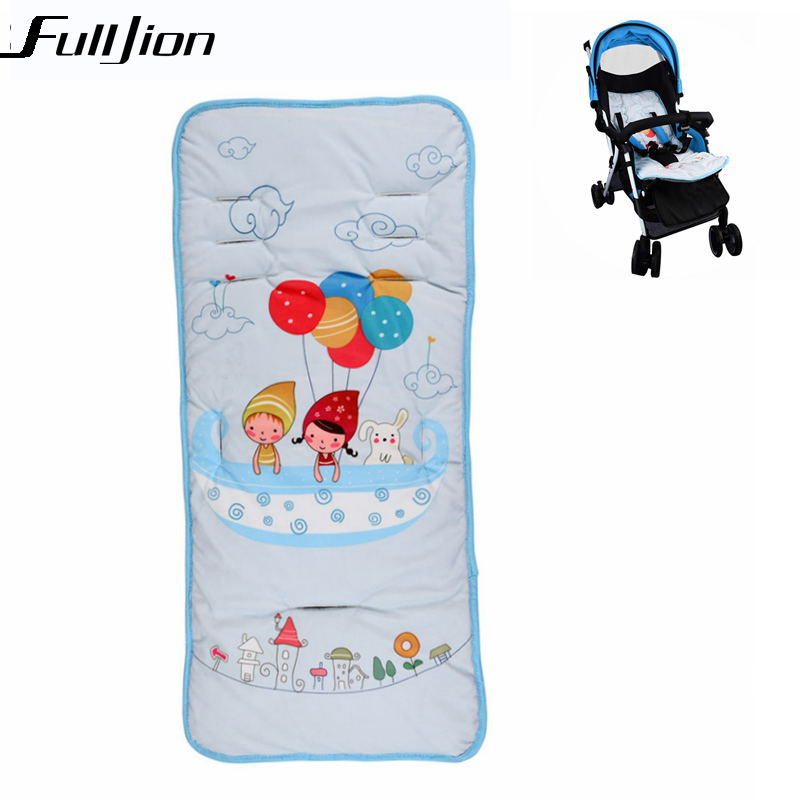 Humor Stroller Seat Cushion Cartoon Warm Cover Diaper Pad Cotton Baby Cart Mat Pram Kids Sleeping Mattress Mother & Kids Activity & Gear
