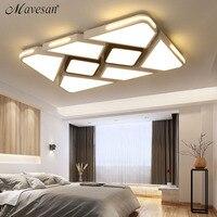Современный белый/черный поверхностного монтажа потолка для Спальня гостиной современный светодиодный приглушить освещение потолочный с