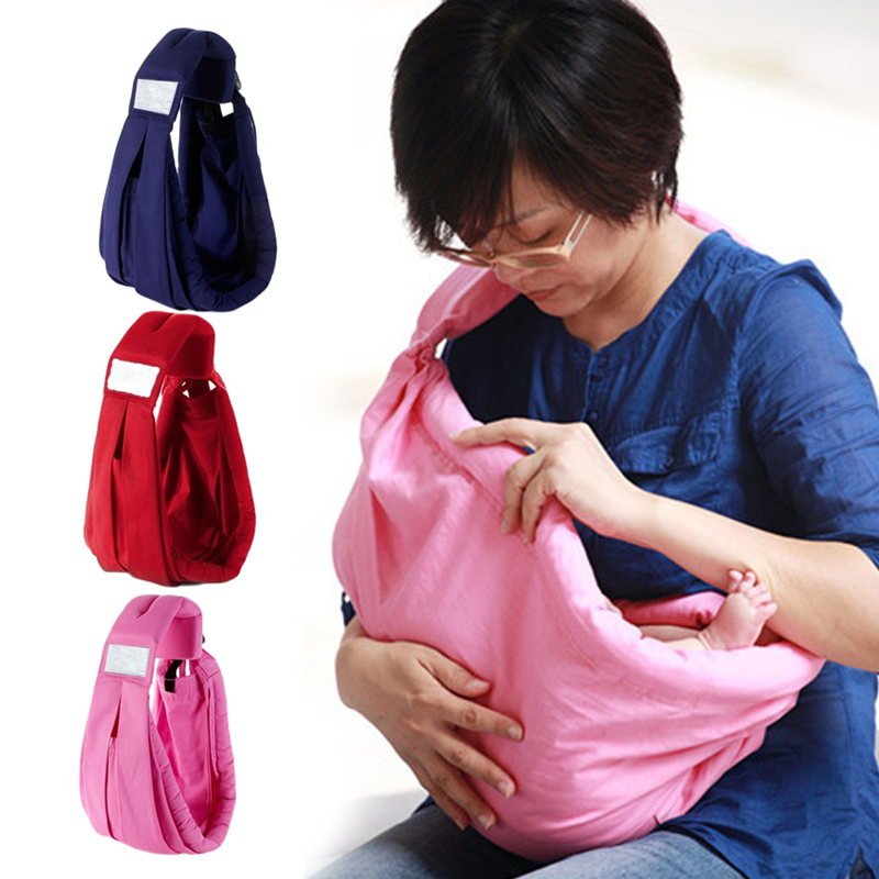 Soft Carrier Cotton Surround Newborn Baby Sling Infant Gifts Wrap Pouch
