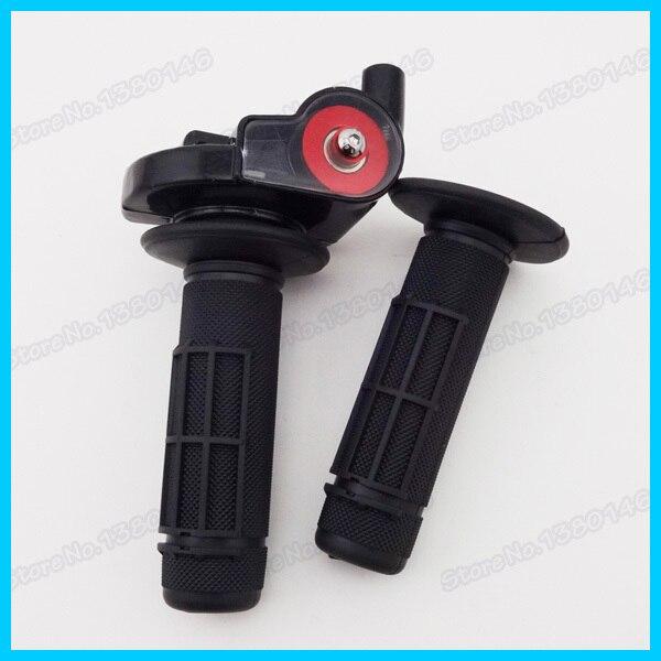 """7/"""" поворотная дроссельная заслонка и рукоятки для китайских Pitster Pro модели SSR и Pit Dirt Bike 110cc 125cc 160cc мотокросса"""