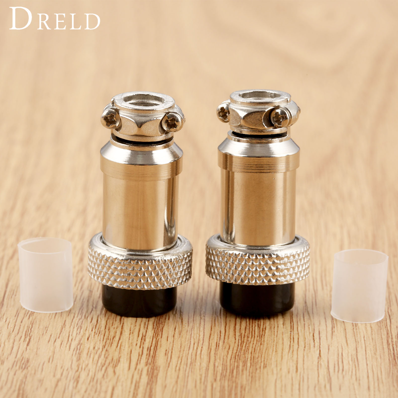 DRELD 2pcs 2 Pin Aviation Plug Air Connector 16-2P Female Socket For TIG Torch And Plasma Torch 2PK Welding & Soldering Supplies