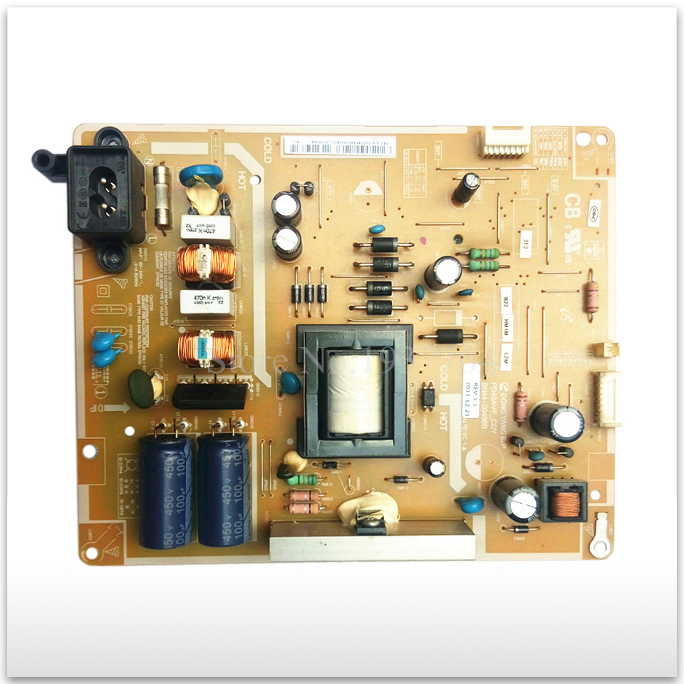 95% new Original power supply board UA40EH5003R BN44-00496B good working 95% new used board good working original for power supply board la40b530p7r la40b550k1f bn44 00264a h40f1 9ss board