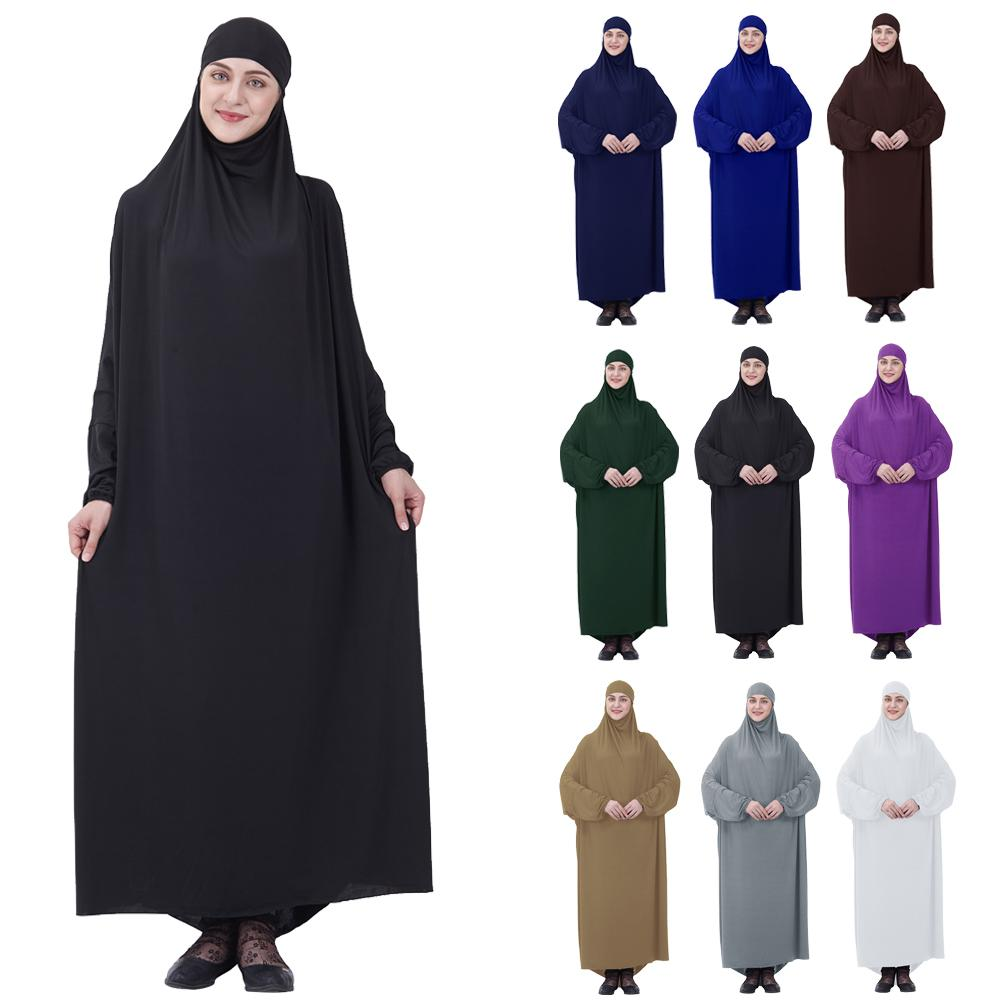 Ramadan Abaya Robe Dubai Turkey Islam Hijab Muslim Farasha Maxi Dress Kaftan Abayas For Women Caftan Prayer Clothing Middle East image