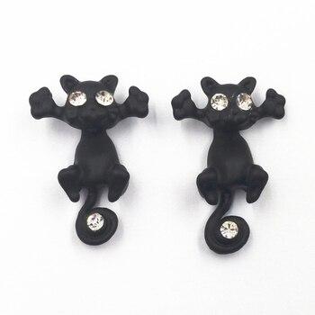 Women's Cat Shaped Stud Earrings