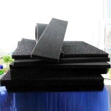 Aquarium Biochemical Cotton Filter Fish Tank Pond Sponge Foam Aquatic Air Water Pump Accessories Black