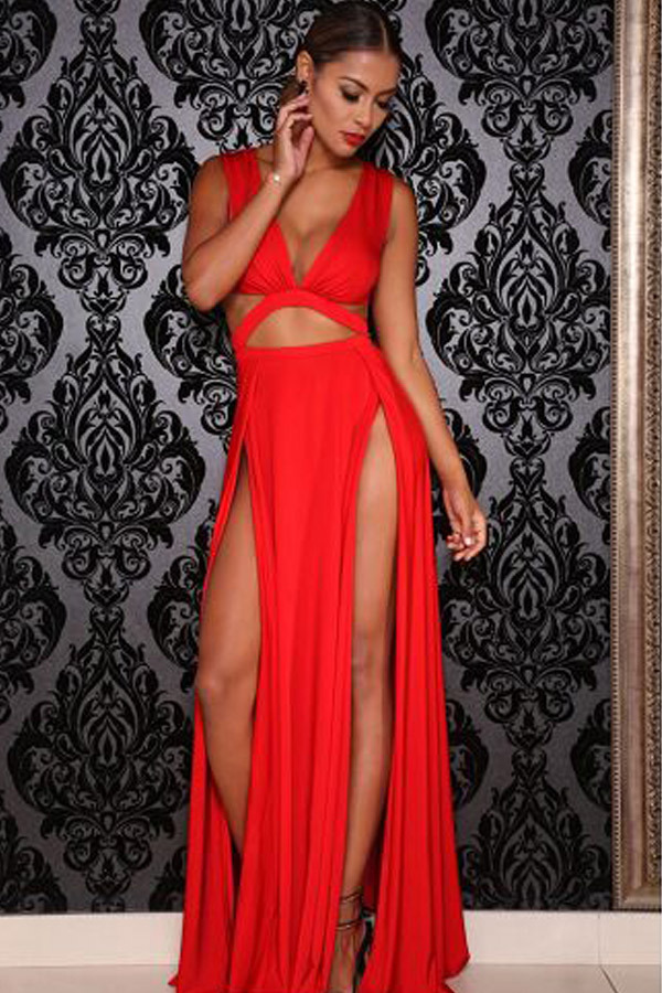 Maxi dress for clubbing
