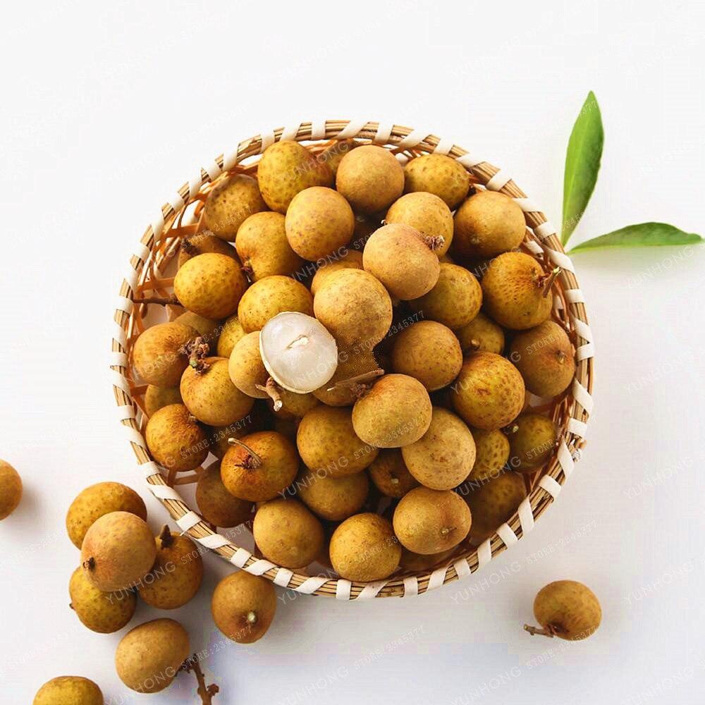 how to eat longan fruit