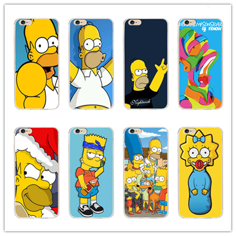 classic anime the simpsons cover coque for samsung galaxy s3 s4 s5 s6 s7 edge gramd prime for. Black Bedroom Furniture Sets. Home Design Ideas