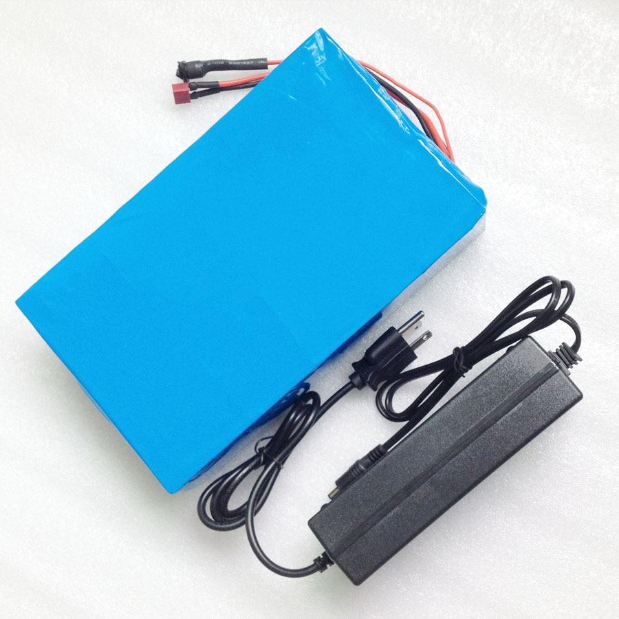 48V 1000W litium batareyası 48V 20AH 54.6V 2A şarj cihazı, 30A BMS - Velosiped sürün - Fotoqrafiya 5