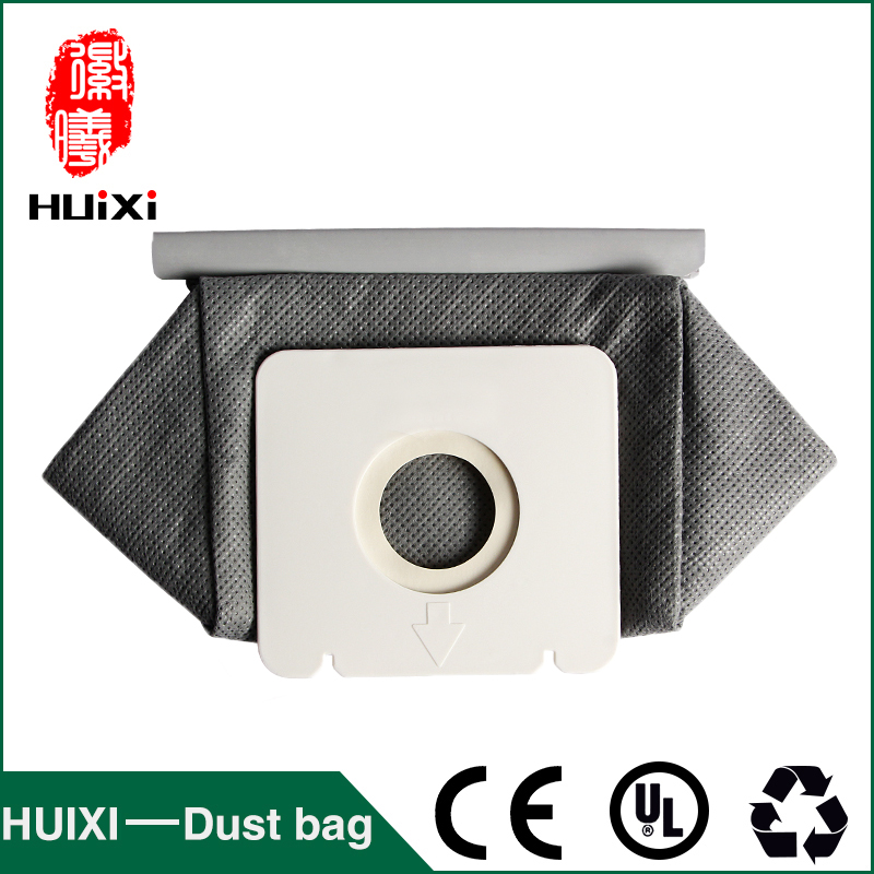 Free shipping 3 pcs 110*100 vacuum cleaner non woven bags and washable dust bags for Philips FC8082 FC8083 etc 1 pcs universal vacuum cleaner non woven bags and washable dust bags with high efficiency for ro1121 ro1124 etc