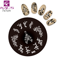 KADS A45 Fashion Series Steel Nail Stamp Stamping Image Plate Print Nail Art Template DIY Tools 2016 New Sale