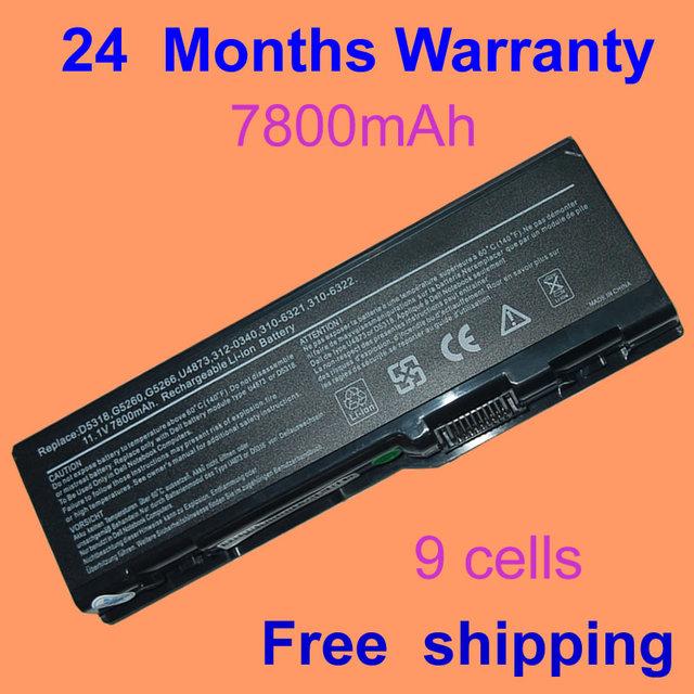 Bateria do portátil para dell inspiron 9200 6000 9400 9300 jigu precision m90 m6300 e1705 xps gen 2 xps m170 xps M1710
