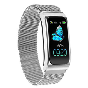 Image 4 - Smart Wristband AK12 IPS Color Screen Bluetooth Fitness Bracelet for Men/Women Sphygmomanometer Menstrual Cycle Activity Monitor